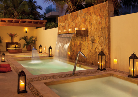 Unlimited vacation club for Jacuzzi exterior puerto rico